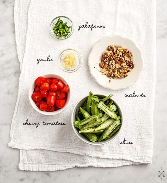 Spicy Seared Okra Recipe Love And Lemons
