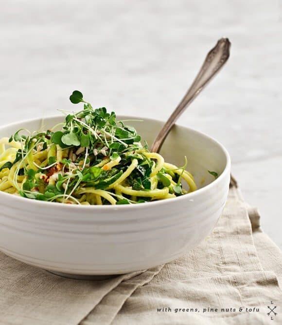 Tahini zucchini noodles recipe love and lemons tahini zucchini noodles forumfinder Images