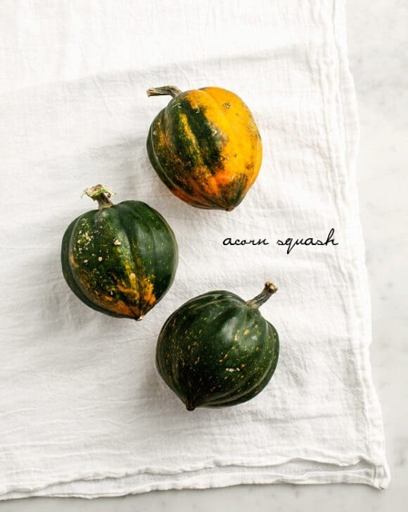 quinoa stuffed acorn squash / loveandlemons.com