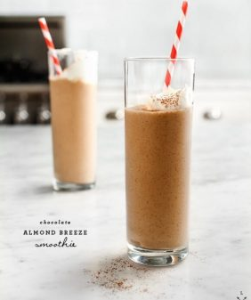Chocolate & Almond Smoothie // 徳赢真人娱乐场loveand徳赢vwin捕鱼游戏lemons.com
