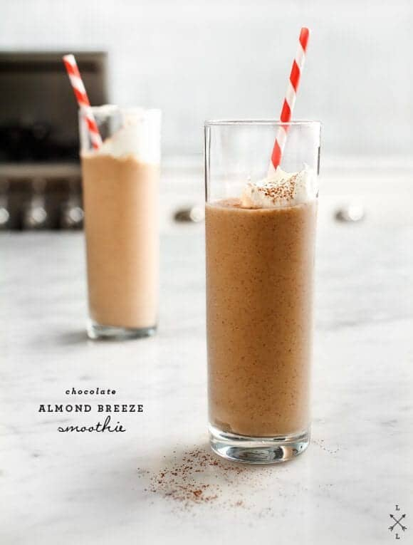 Chocolate Almond Breeze Smoothie Recipe