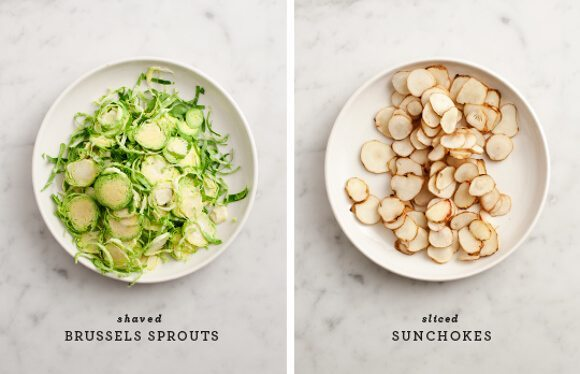 Sunchoke recipe ingredients