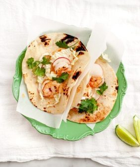 Chipotle Shrimp Tacos // loveandlemons.com