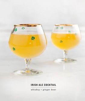 irish ale cocktail / loveandlemons.com