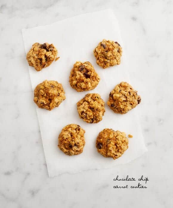 Chocolate Chip Carrot Cookies Recipe
