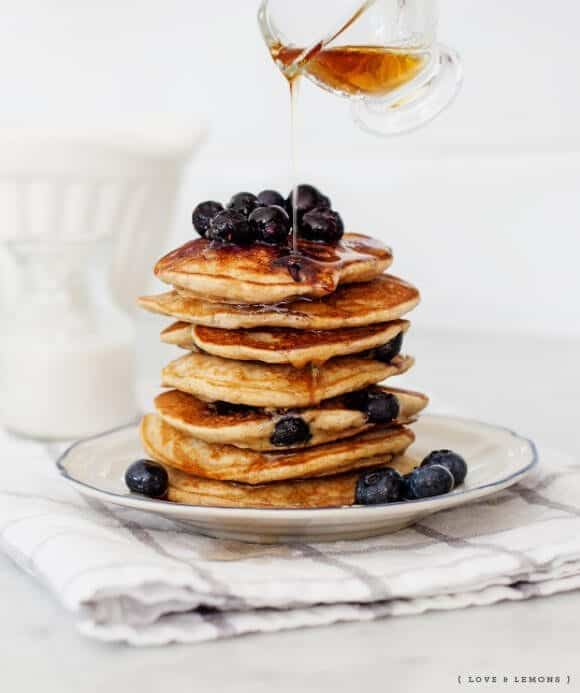 Blueberry Banana Pancakes Recipe Love And Lemons