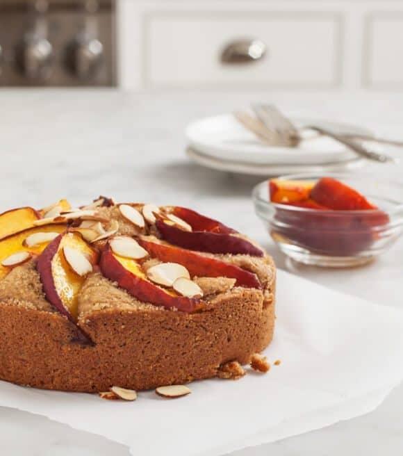 Almond Peach Cake // loveandlemons.com