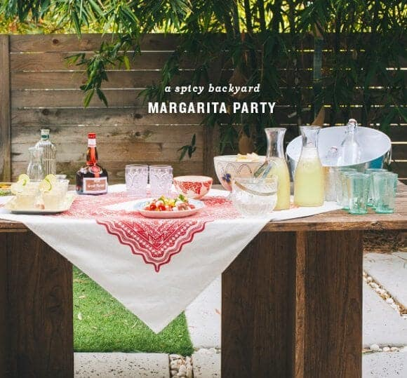 spicy margarita party // loveandlemons.com