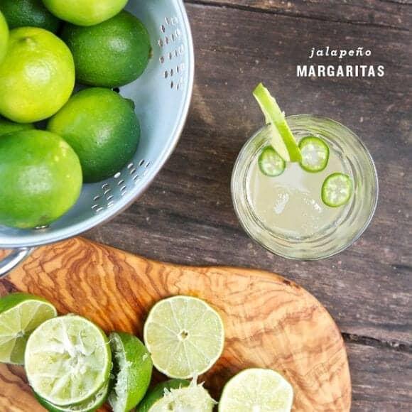 spicy jalapeño margaritas / loveandlemons.com