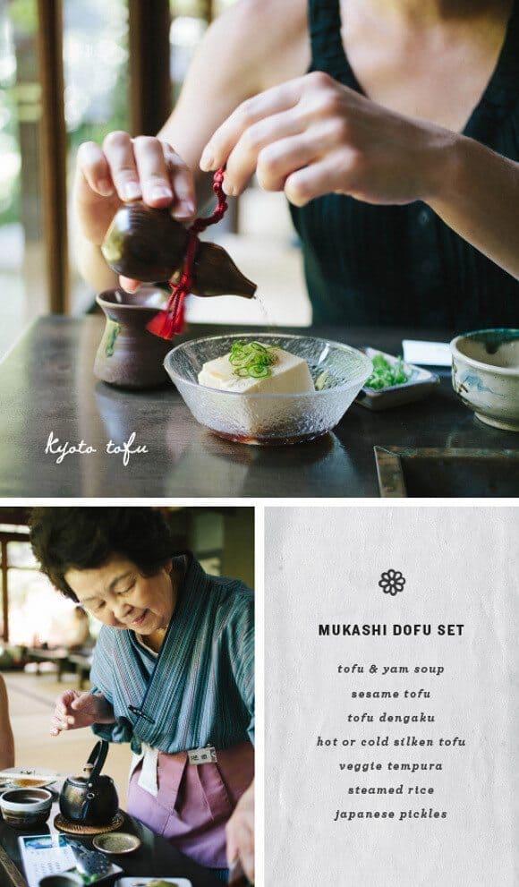 tofu in Kyoto / loveandlemons.com