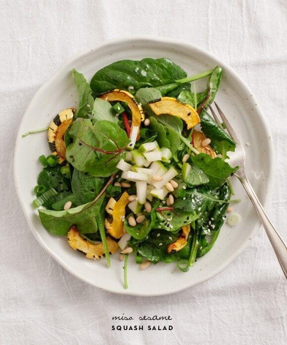 miso sesame squash salad / loveandlemons.com