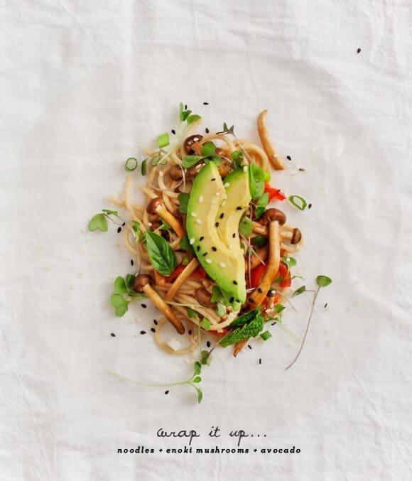 Peanut Soba Spring Rolls Recipe - Love and Lemons