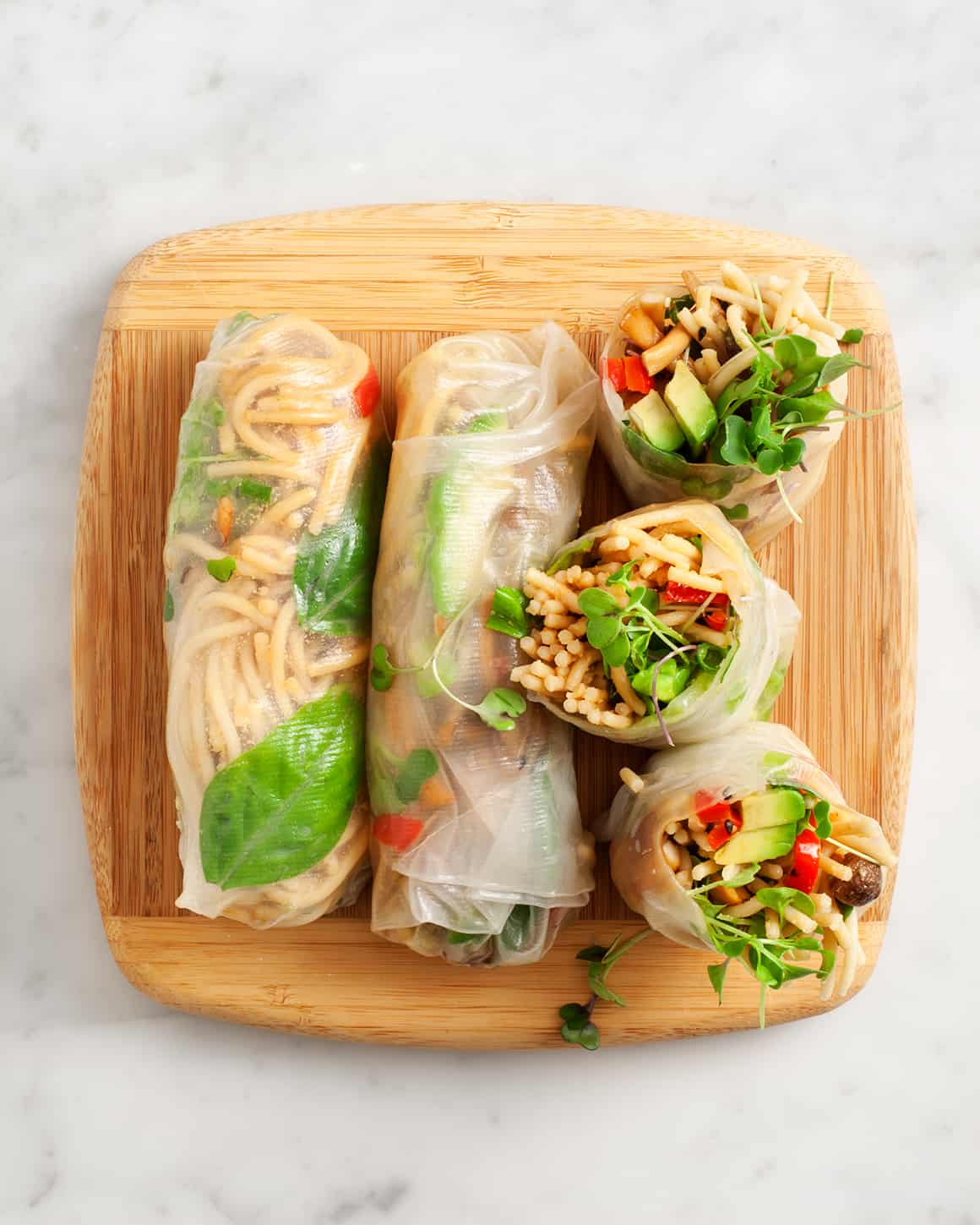 Fresh Spring Rolls Recipe Love And Lemons