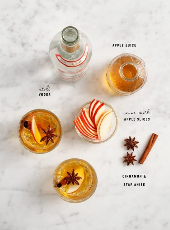 apple spice cocktails / loveandlemons.com