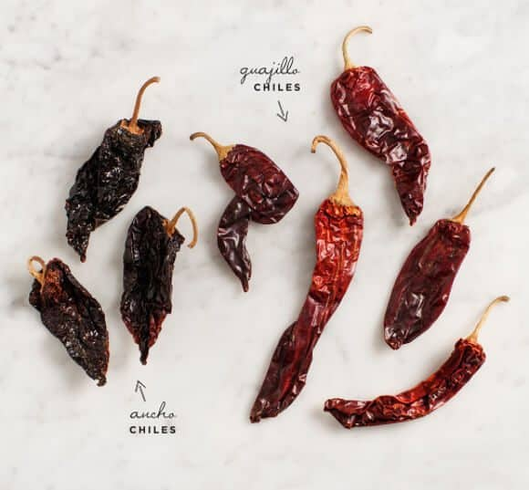 dried chile salsa / loveandlemons.com