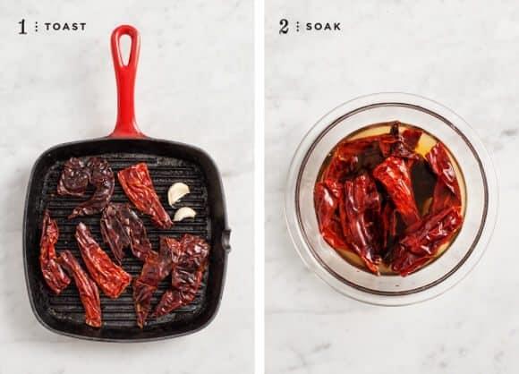 dried chile salsa / loveandlemons.com