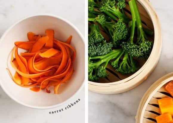 chili-orange veggie bowl