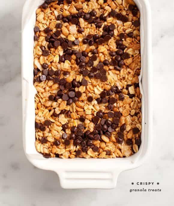 Peanut Butter Crispy Treats Recipe - Love and Lemons