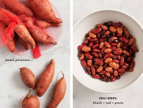 Sweet Potato Vegetarian Chili / @loveandlemons