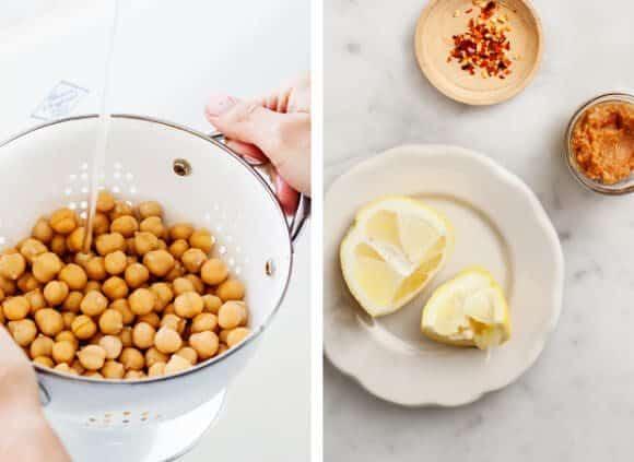 Chickpea lemon-miso noodle soup / loveandlemons.com
