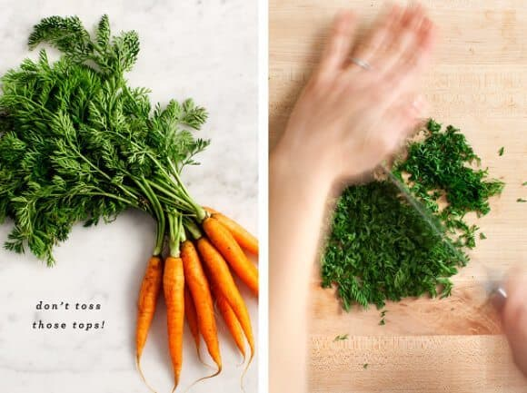 carrot green chimichurri / loveandlemons.com