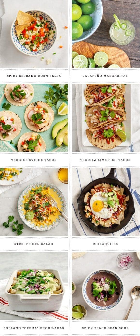 cinco de mayo recipes / loveandlemons.com