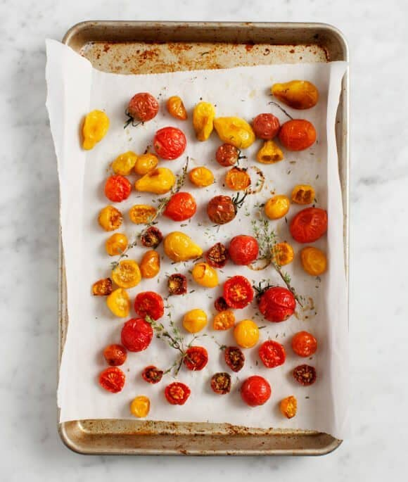 slow roasted tomatoes / @loveandlemons