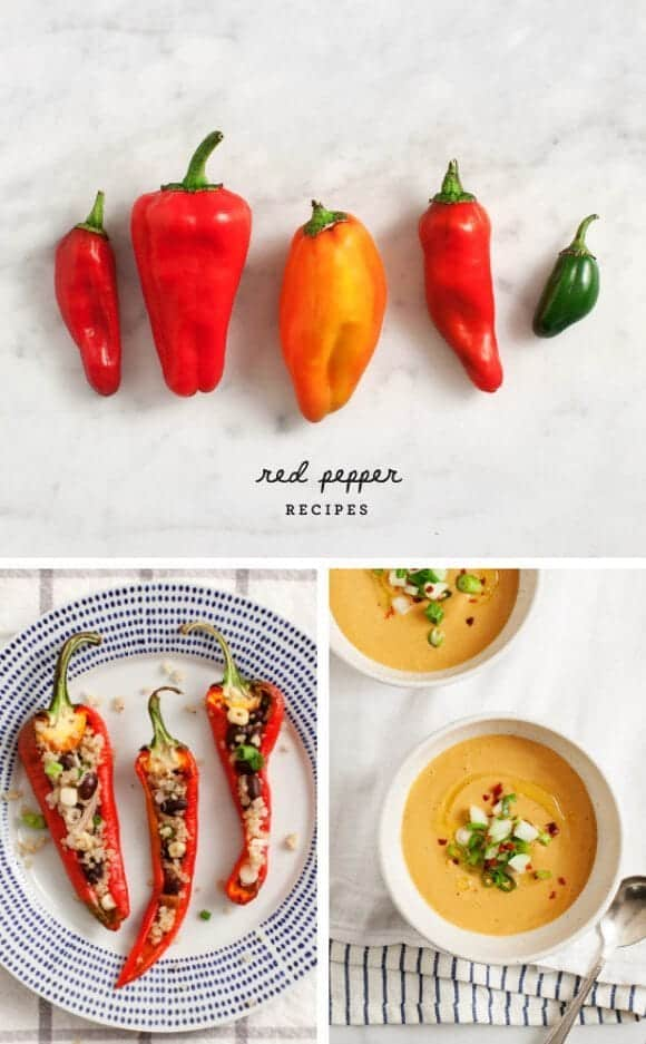 Red Pepper Recipes / @loveandlemons