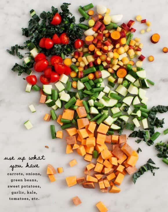 many-veggie vegetable soup / @loveandlemons