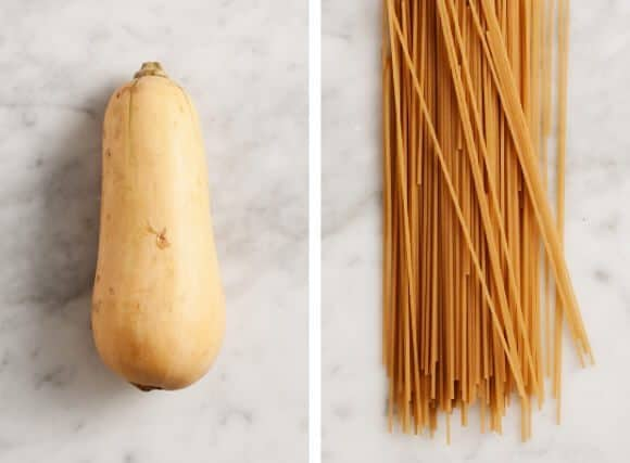 Butternut Squash Pasta Recipe ingredients