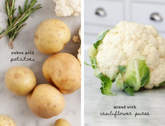Vegan Cauliflower Mashed Potatoes recipe ingredients