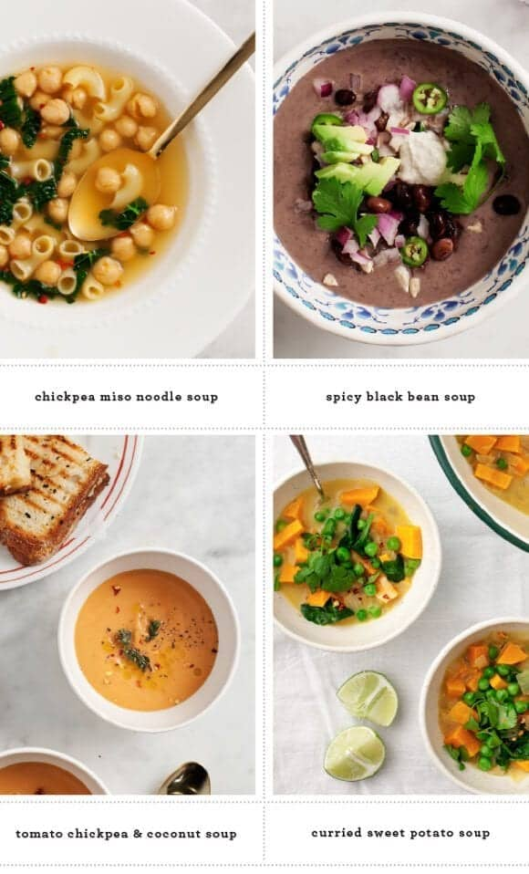 Healthy Soup Recipes @loveandlemons