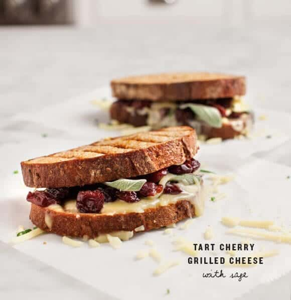 Tart Cherry Grilled Cheese with Sage / www.loveandlemons.com