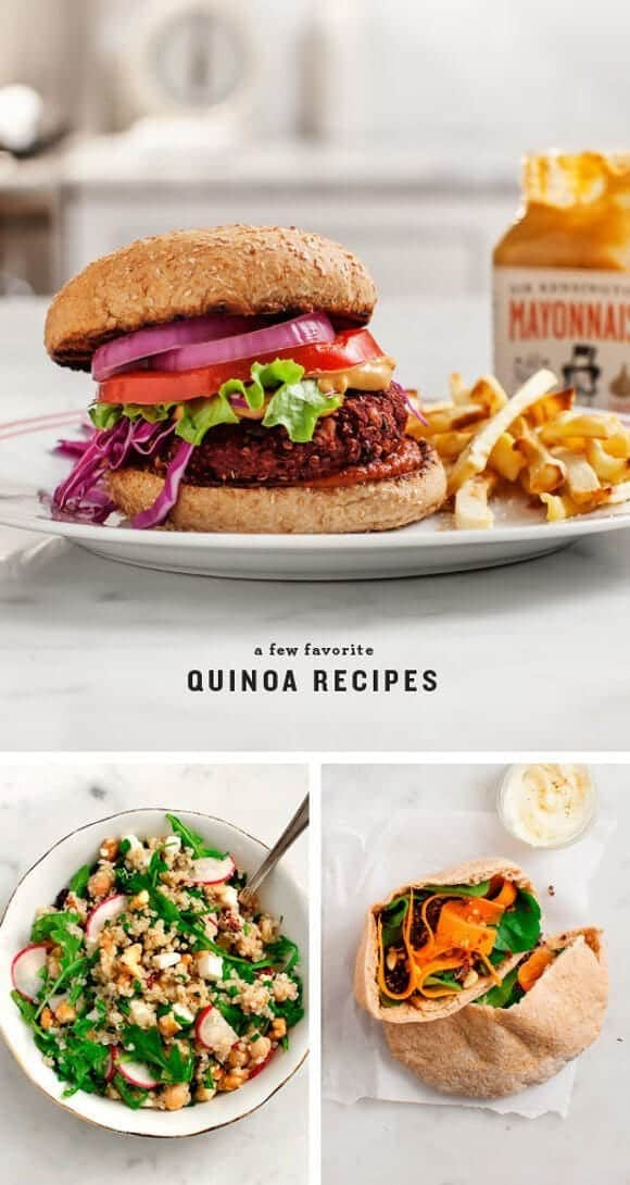 Quinoa Recipes / loveandlemons.com