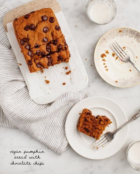 Vegan Pumpkin Bread / loveandlemons.com