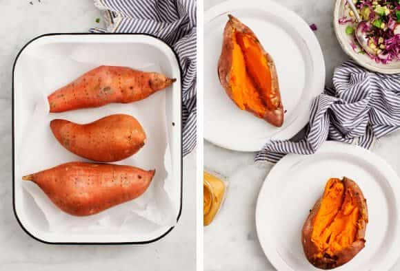 Super Stuffed Chipotle Sweet Potatoes