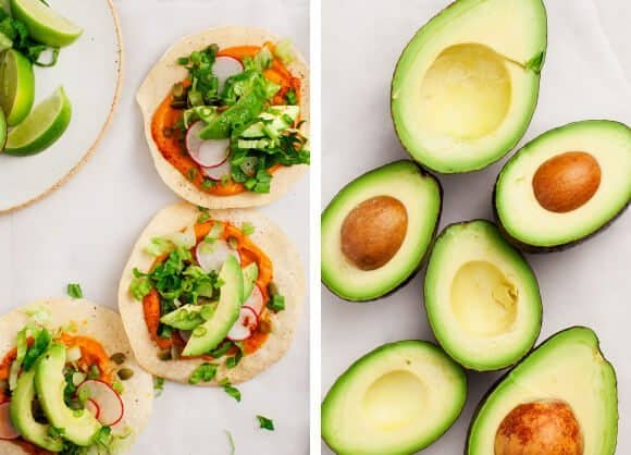 Pumpkin & Avocado Tostadas