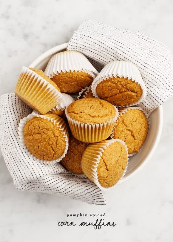 Pumpkin Spiced Corn Muffins