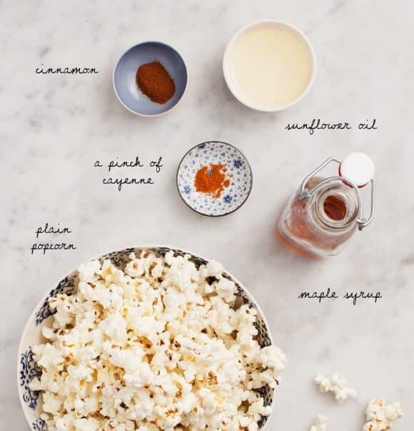 Sweet & Spicy Popcorn