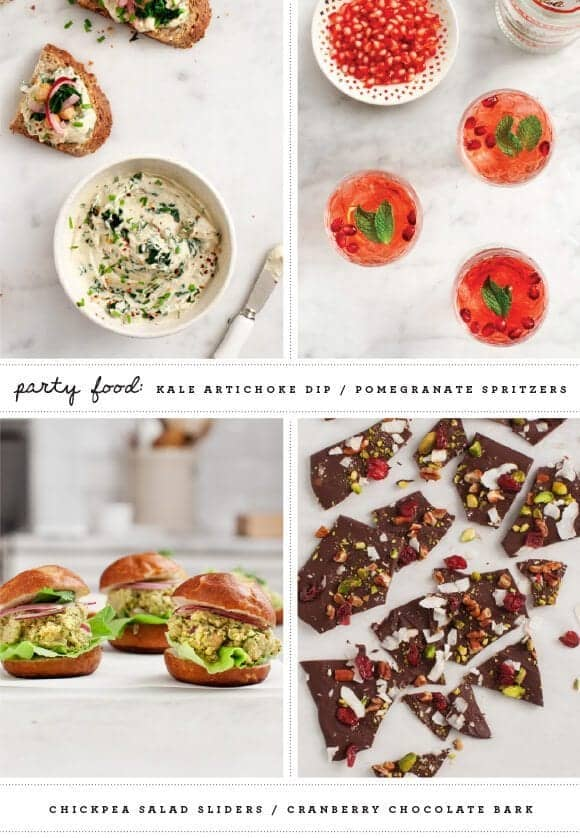 Healthier Holiday Recipes / @loveandlemons