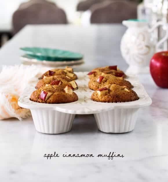 Muffin alla cannella mela sana