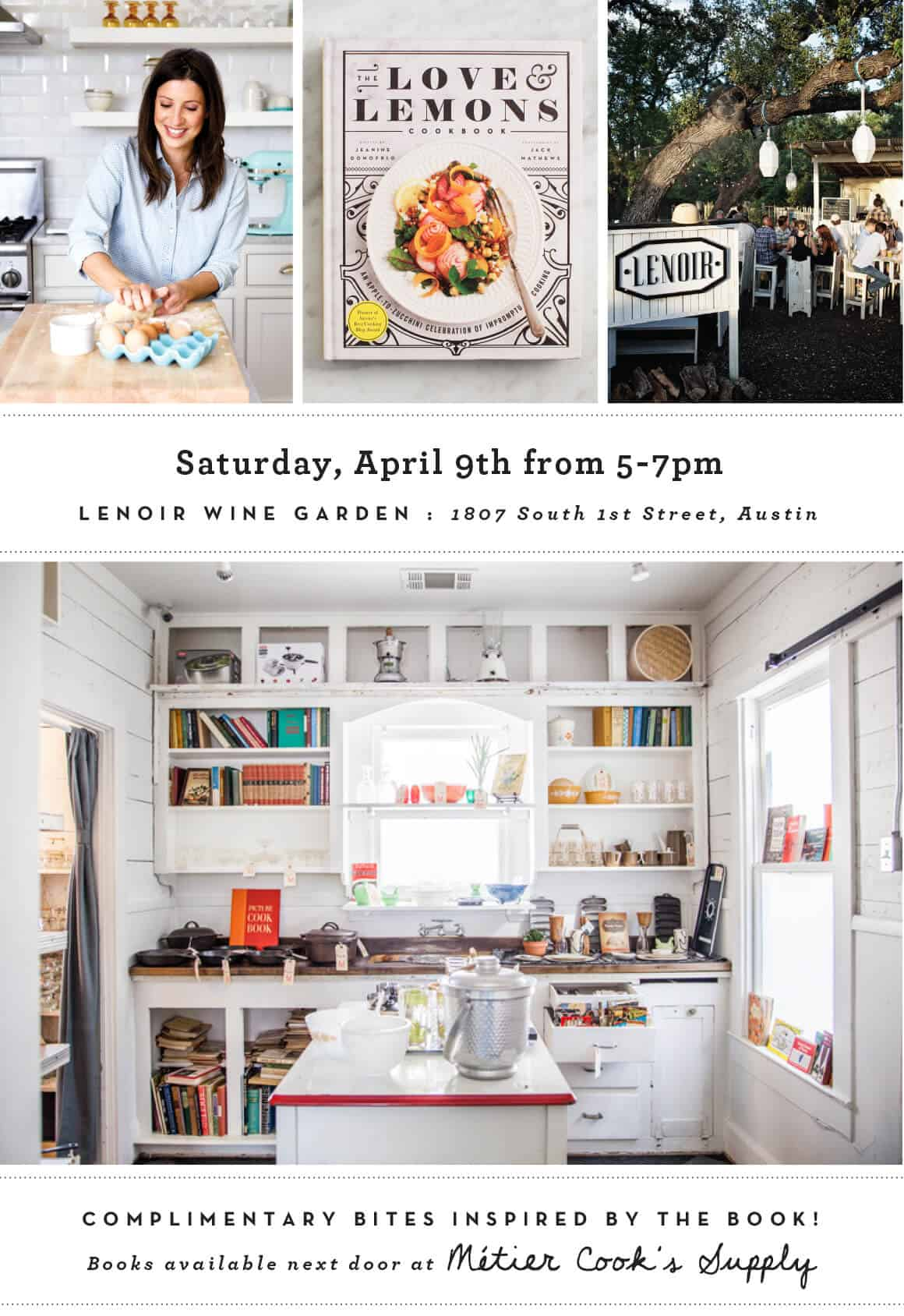 Cookbook Happy Hour at Lenoir