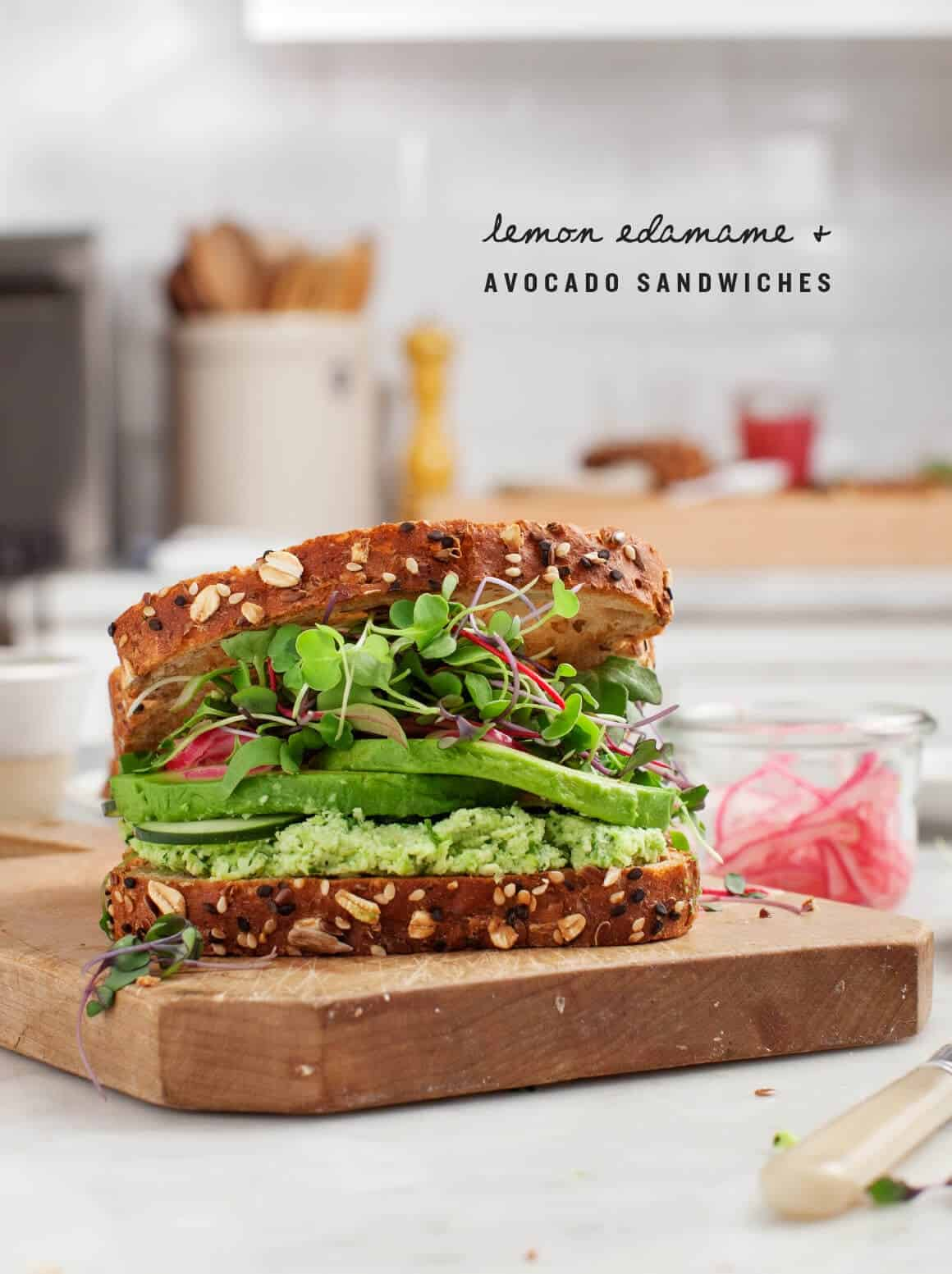 Lemon edamame avocado sandwiches recipe love and lemons lemon edamame avocado sandwiches forumfinder Images