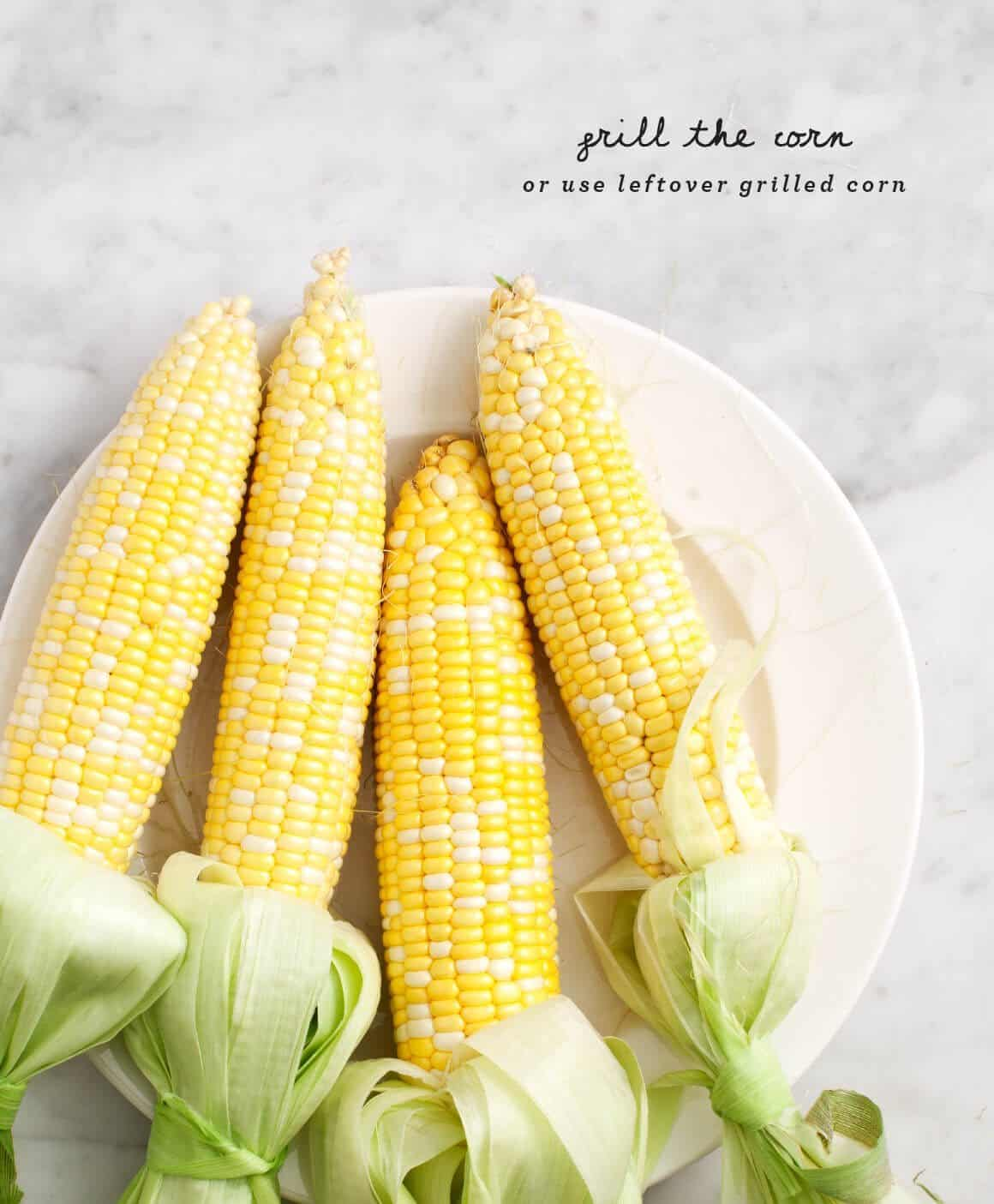 Summer Corn Salad ingredients