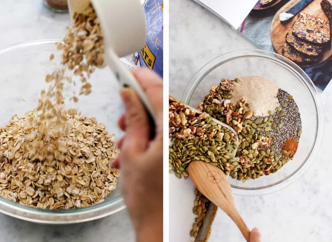 Alanna's Pumpkin Cranberry Nut & Seed Loaf
