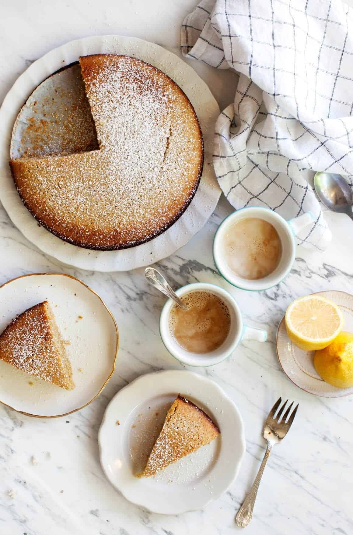 Julia Turshen's Afternoon Lemon Cake
