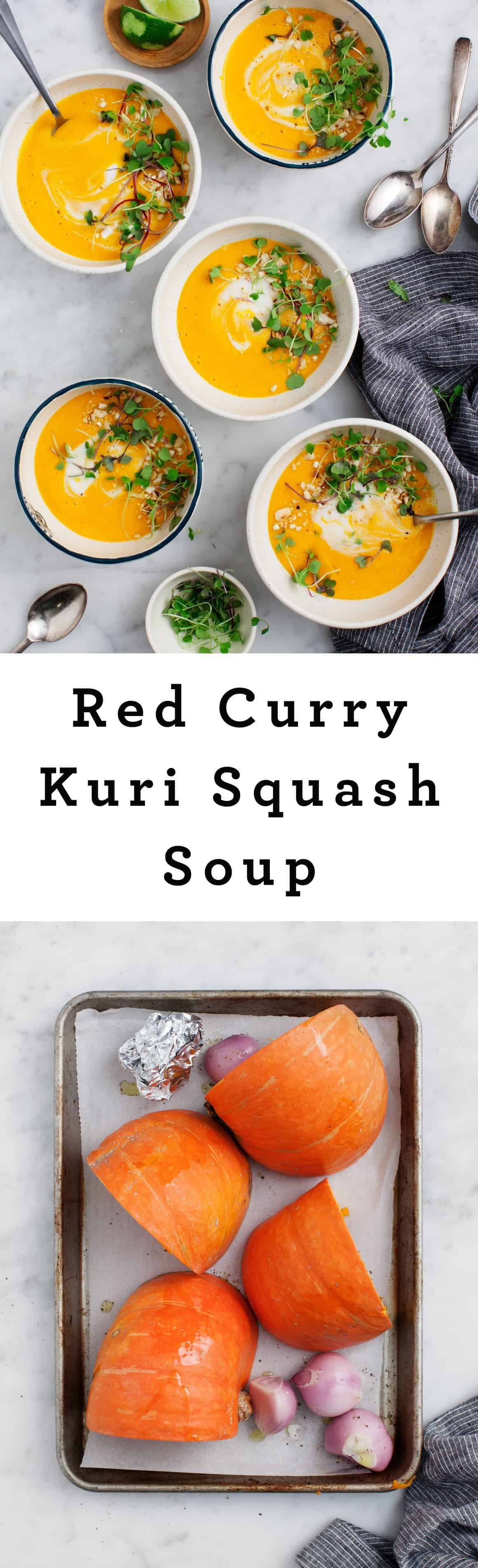 Red Curry Kuri Squash Soup