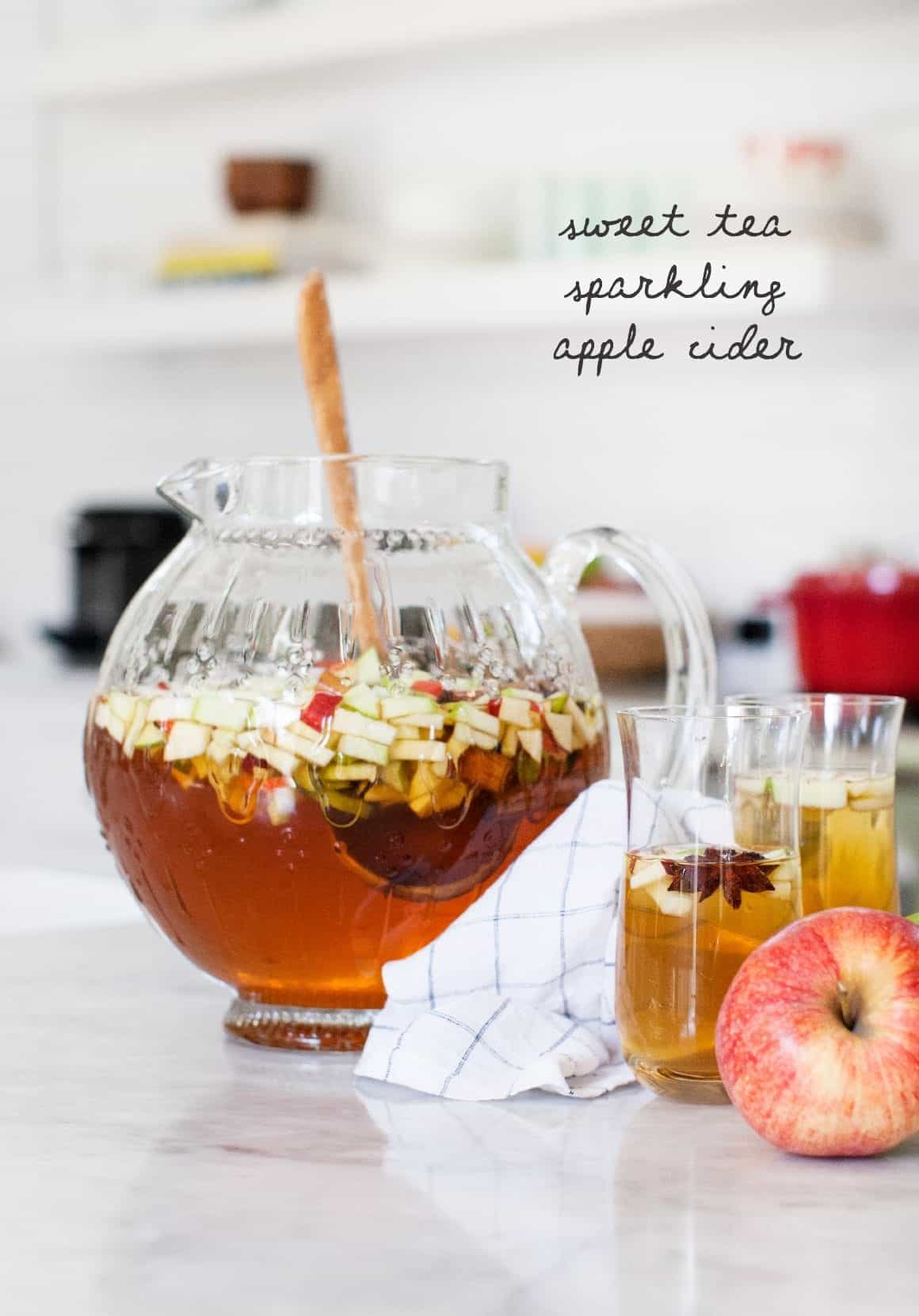 Sweet Tea Sparkling Apple Cider