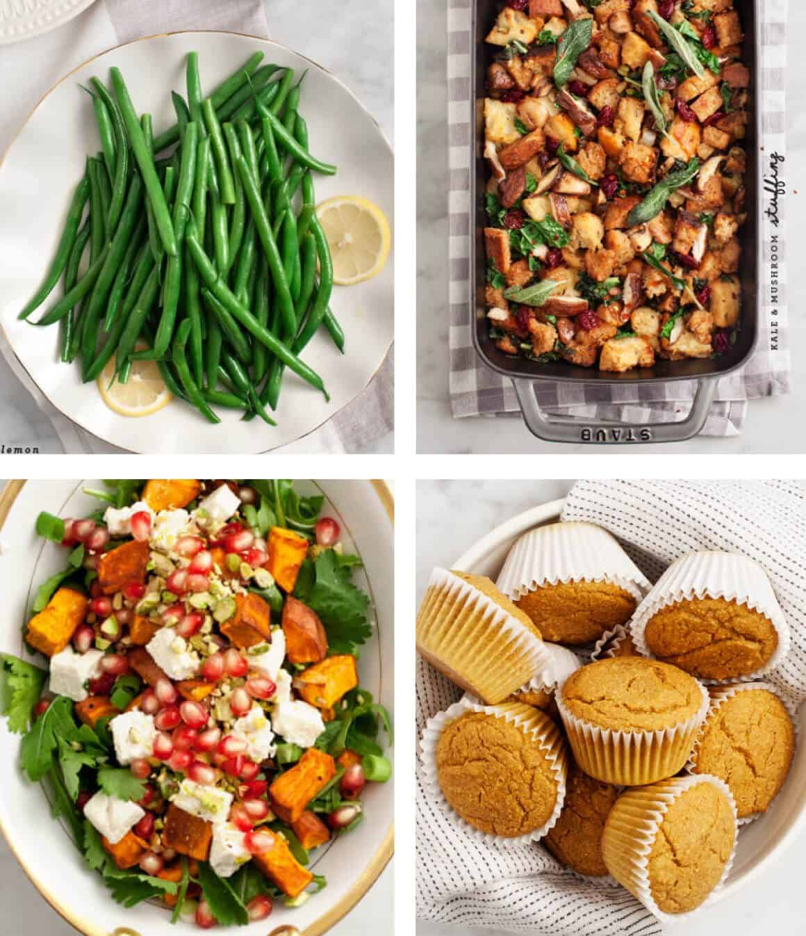 Vegetarian Thanksgiving Sides / @loveandlemons