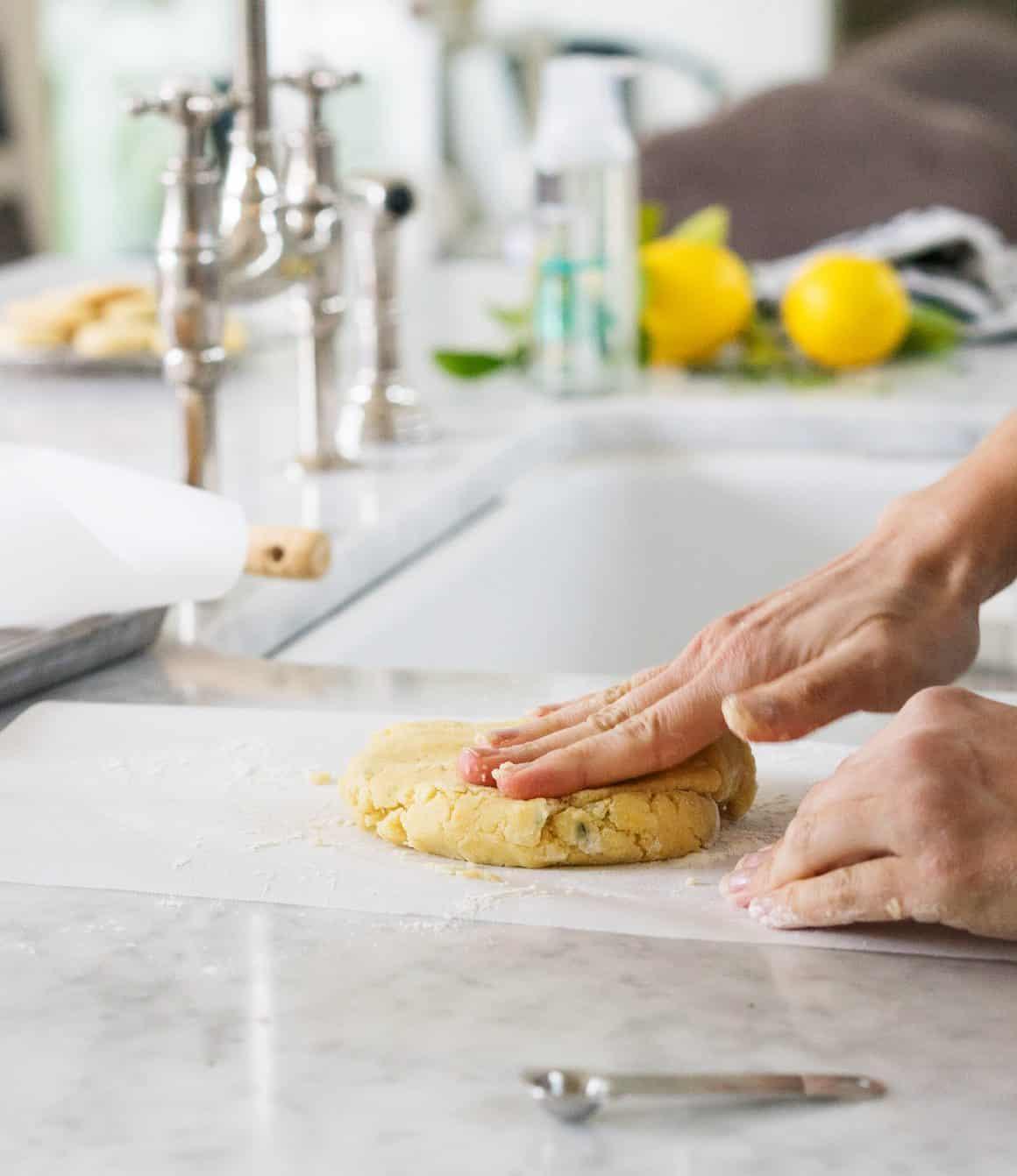 Lemon Thyme Shortbread Cookies Recipe - Love and Lemons